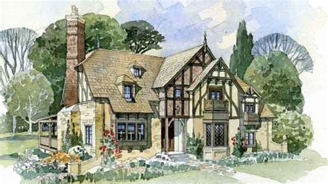 tudor cottage house plans weobley cottage new south classics llc southern