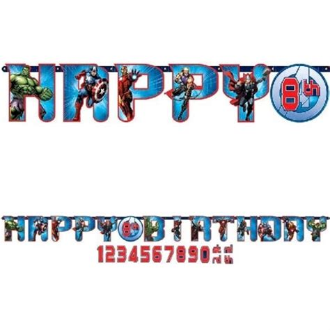 Hbd Letter Banner Big add an age letter banner themed supplies character australia