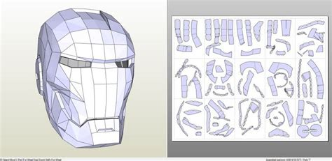 Iron Helmet Papercraft - 489 best images about papercraft on papercraft