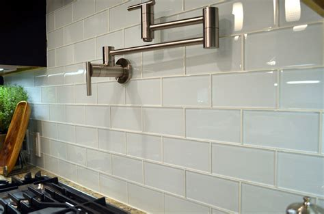 Frosted Glass Backsplash In Kitchen by Blog Subway Tile Outlet