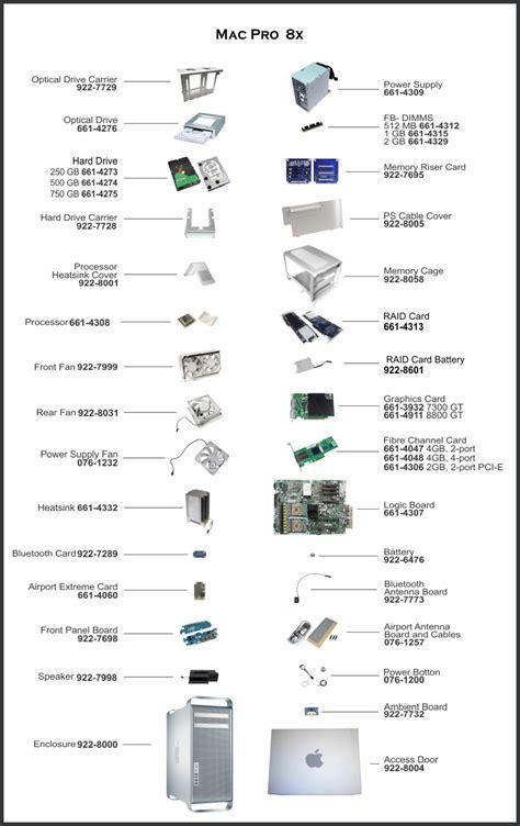 diagrams on mac mac pro 2006 2007 a1186 parts