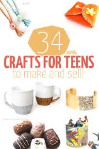 34 crafts teens sell moms crafters