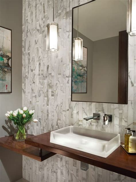 houzz small bathrooms powder room best contemporary powder room design ideas remodel