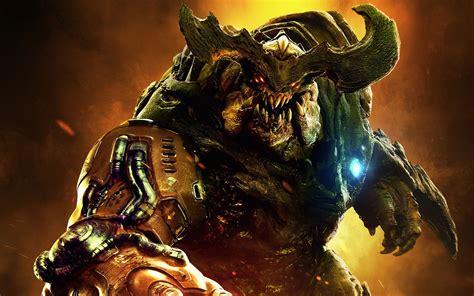wallpaper game hd 2016 doom 2016 monster hd games 4k wallpapers images
