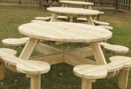 woodwork traditional picnic table plans  plans picnic