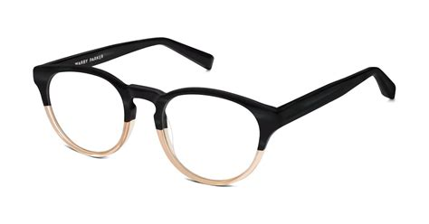 percey eyeglasses in mission clay fade for warby