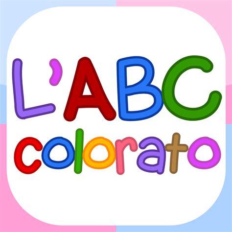 lettere colorate per bambini l abc colorato flashcards sull alfabeto per bambini