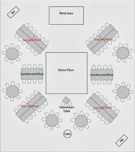 wedding reception floor plan ideas 17 best ideas about reception layout on pinterest wedding reception layout wedding table