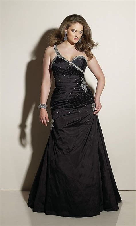 perfect prom dresses   full figured girl  ojays  dress  neckline
