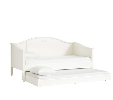 pottery barn white trundle bed madeline daybed pottery barn