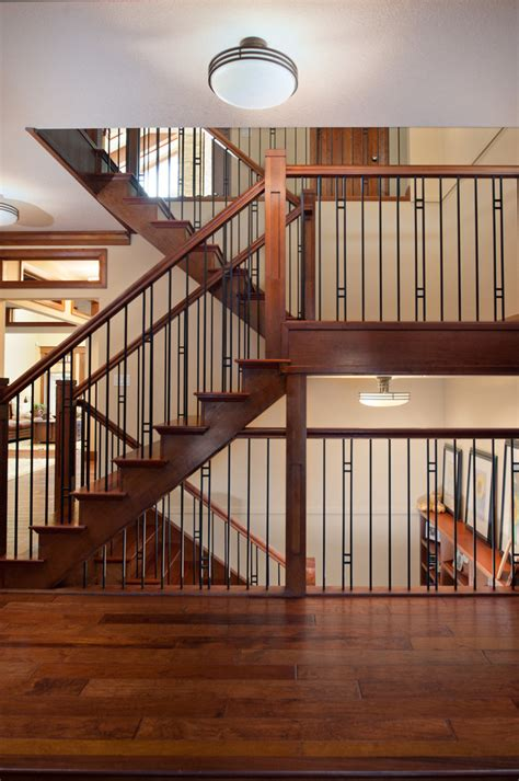 outdoor stair railing ideas staircase craftsman with