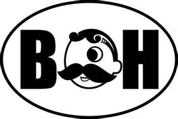 Natty Boh Family Car Stickers