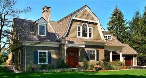 gambrel style homes gambrel shingle style traditional exterior new york