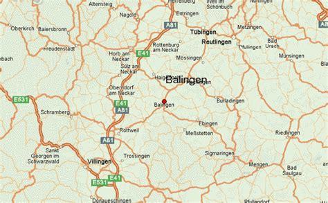 tubingen germany map balingen weather forecast