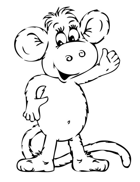 monkey pirate coloring pages free coloring pages of listening ears
