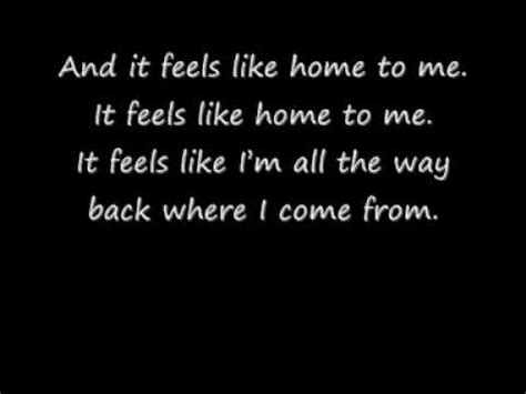 feels like home lyrics