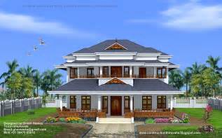Kerala Home Design Green Homes Traditional Style Kerala Home Design 3450 Sq