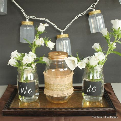 Cheap Country Home Decor by 9 Mason Jar Wedding Centerpiece Ideas Temple Square