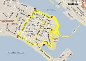 coronado california map coronado island