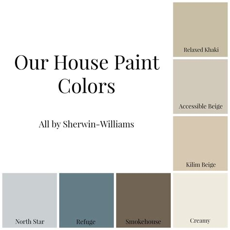 our house paint colors domestic charm