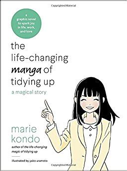 the life changing manga of tidying up a magical story marie kondō 9780399580536 amazon com