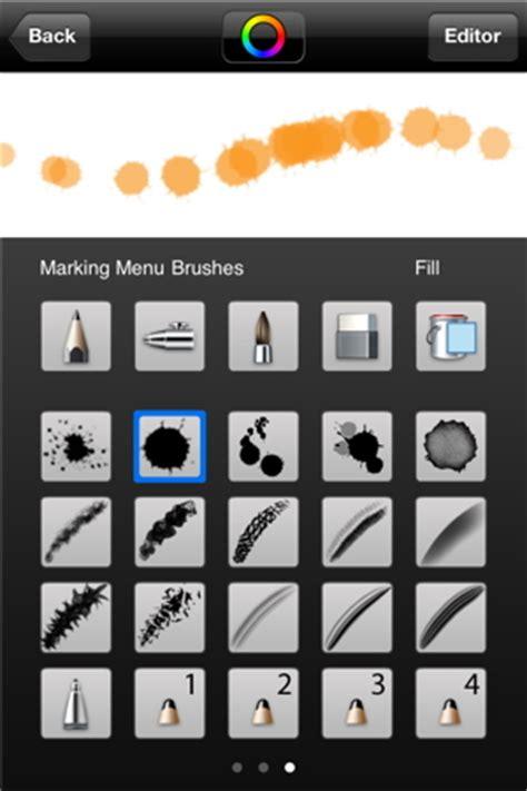 sketchbook brush autodesk sketchbook mobile organizing creativity