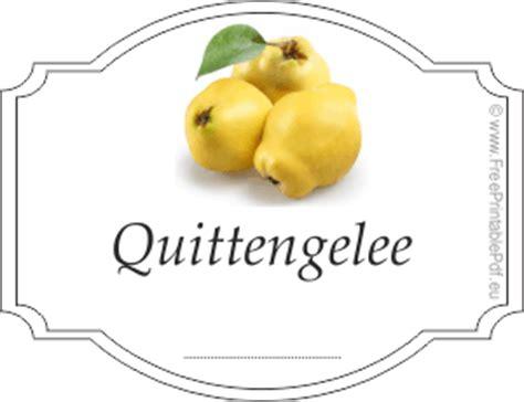 Quittengelee Etiketten Selber Machen by Quittengelee Rezepte Suchen