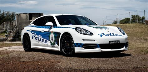 police porsche porsche panamera police car program extended with new 4s
