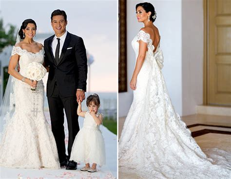 Top 5 Celebrity Wedding Dresses of 2012   PreOwned Wedding