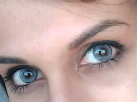 most beautiful blue color contact lenses collection youtube