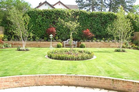 backyard lawn landscape gardening winchester hshire andover and