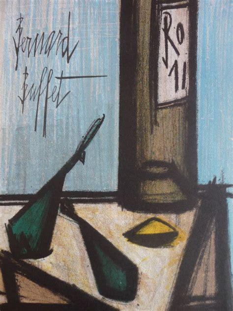 Bernard Buffet Lithograph Quot Thistles Quot Mid Century Fine Art Buffet Prints