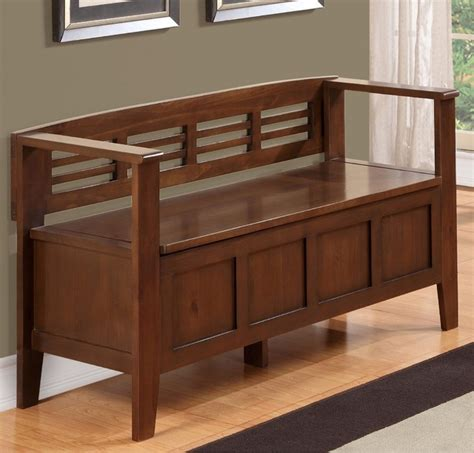 contemporary entry bench chandler rustic brown entryway storage bench