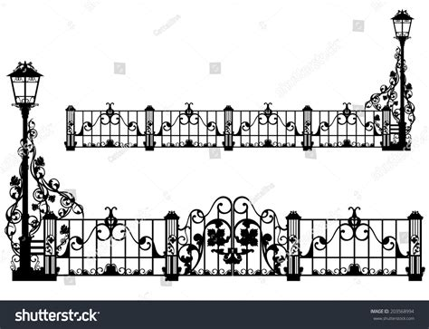 wrought iron fence lighting pics for gt wrought iron fence flower
