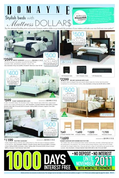 bedroom furniture catalogue galleries domayne