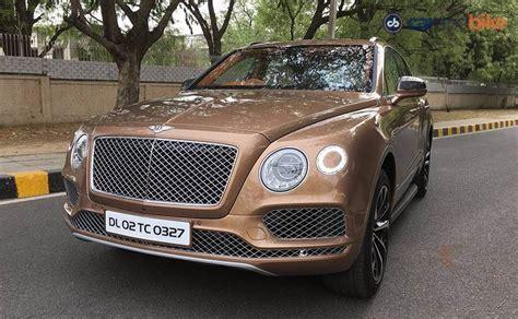 Bentley Bentayga India Review Ndtv Carandbike
