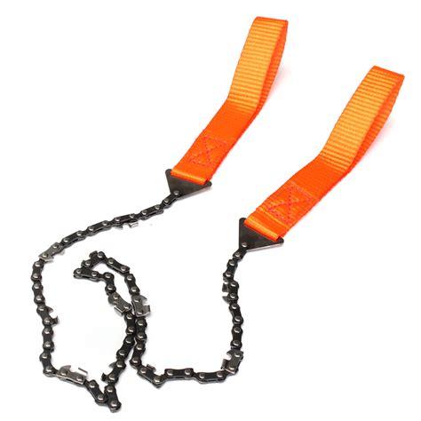 Cing Hiking Emergency Survival Tool Gear Pocket Chain Saw Camo survival chain saw chainsaw emergency cing gear
