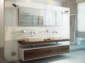 meuble salle de bain bois en 55 id 233 es fascinantes