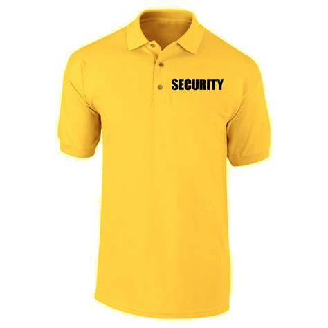 Polo T Shirt Kaosbaju Scurity security polo shirts kamos t shirt