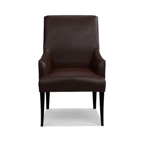 leather dining armchair belvedere leather dining armchair williams sonoma