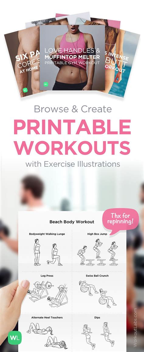 printable exercise ball workouts for beginners 119 best let s get fit images on pinterest exercise
