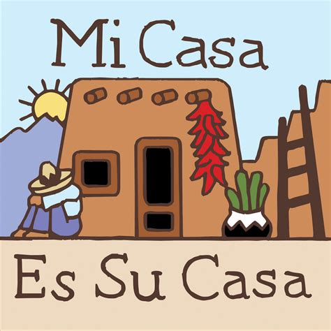 Mi Casa Is Su Casa by Mi Casa Es Su Casa 6x6 Tile From Earthtones By N