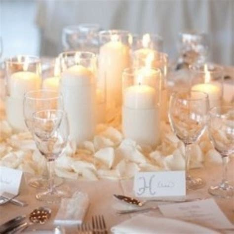 Candle Centerpieces Weddingbee Photo Gallery Wedding Candle Centerpieces