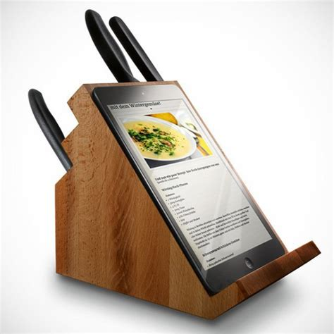cool knife block cool and useful knife blocks homesfeed