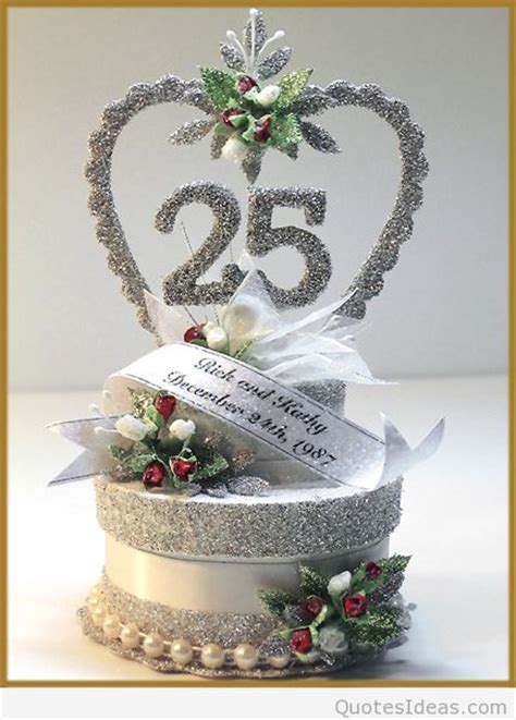 25 wedding anniversary gift ideas happy 25rd marriage anniversary quotes wishes on pics