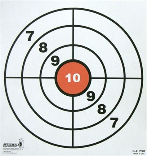 printable targets for shooting pin by vagabondo949 on bersagli pinterest target