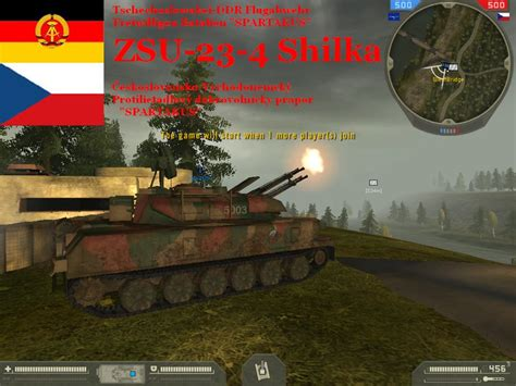 in image battlefield 2 mod db zsu 23 4 shilka image czechoslovak s army čsľa mod for battlefield 2 mod db