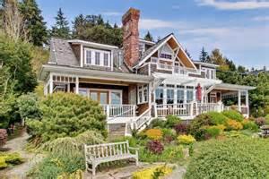 Lakeside Cottage House Plans waterfront craftsman home in bainbridge island wa