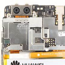 huawei p9 gets torn down, dual camera and sneaky flex