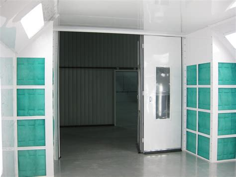 design spray booth ez classic crossdraft automotive paint booth col met efs